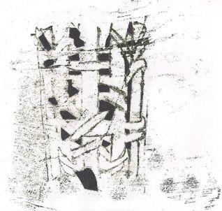 monoprints collage 3