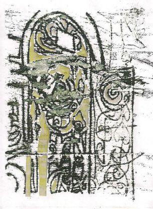 monoprints collage 5