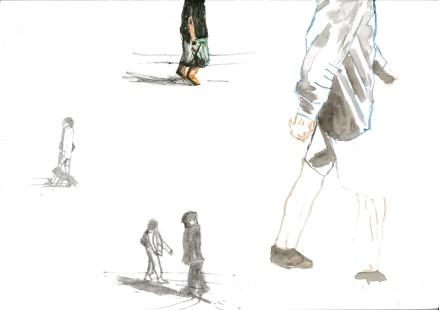 people walking 1