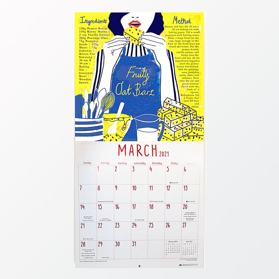 Amber Lotus Publishing_they draw and cook calendar FOR INSTA